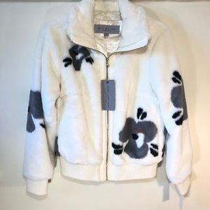 NWT Marc NY Faux Fur Coat
